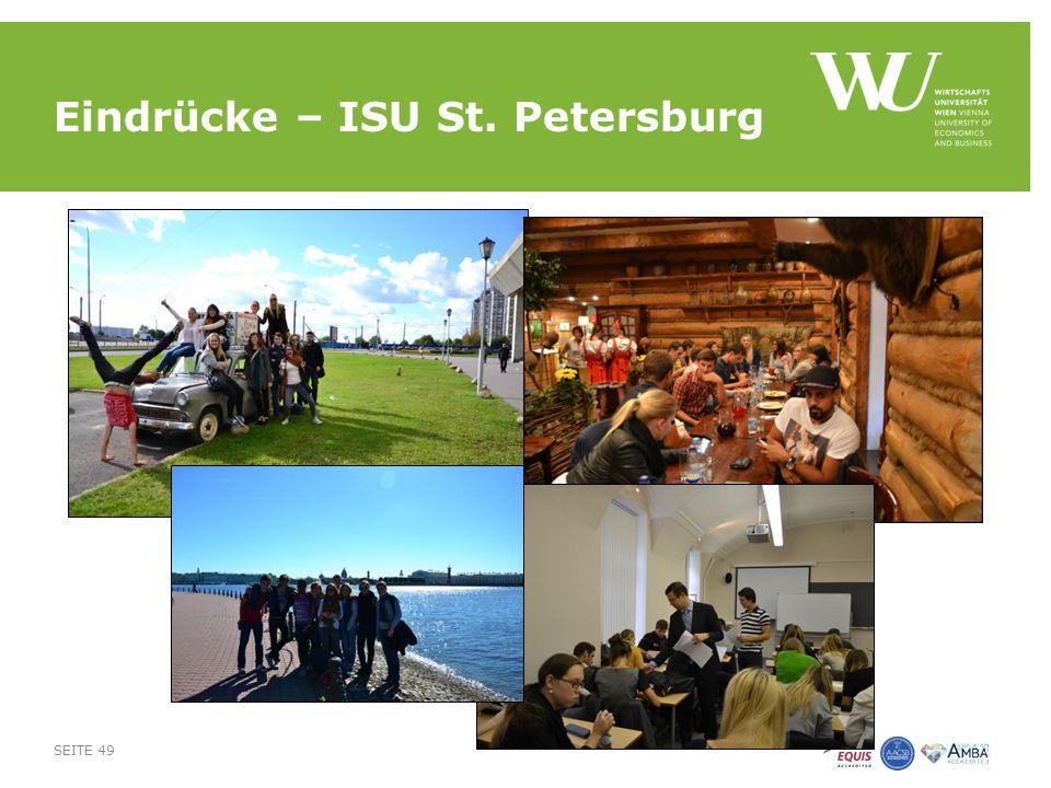 Eindrücke – ISU St. Petersburg SEITE 49