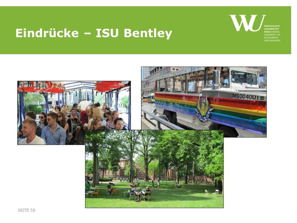 Eindrücke – ISU Bentley SEITE 58