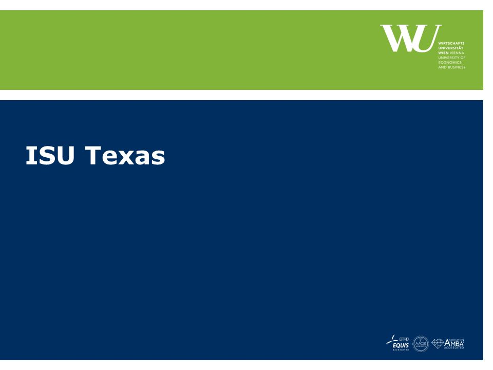 ISU Texas