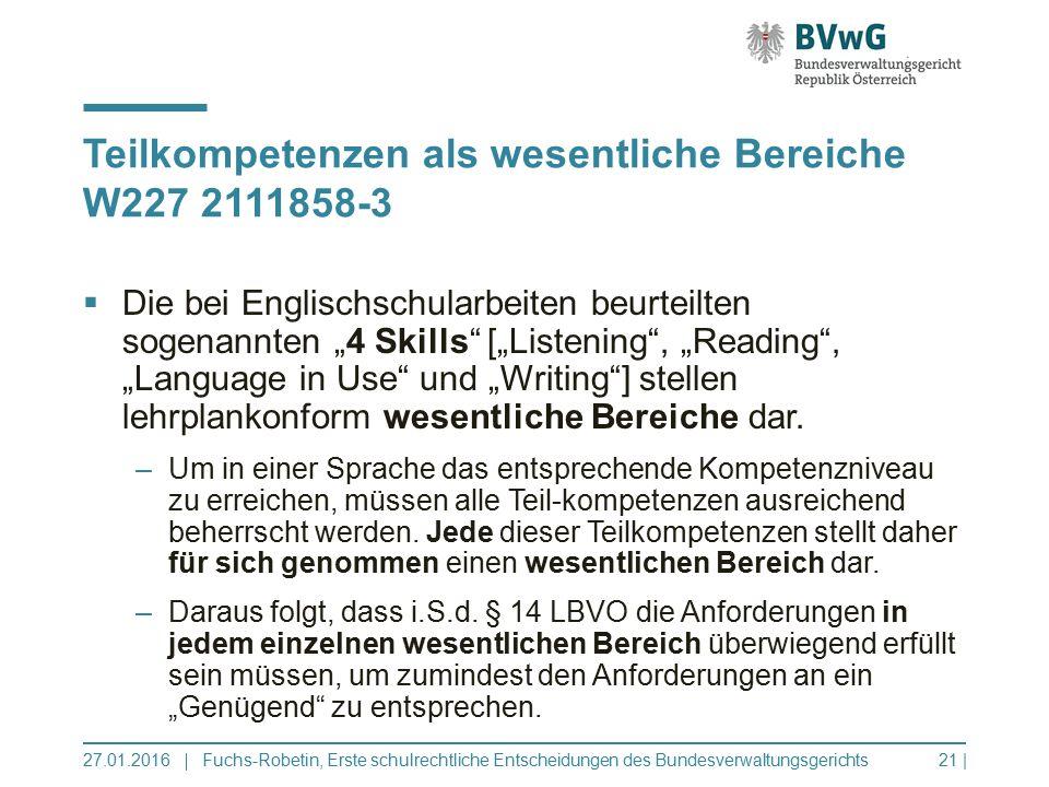 """ Die bei Englischschularbeiten beurteilten sogenannten """"4 Skills [""""Listening , """"Reading , """"Language in Use und """"Writing ] stellen lehrplankonform wesentliche Bereiche dar."""