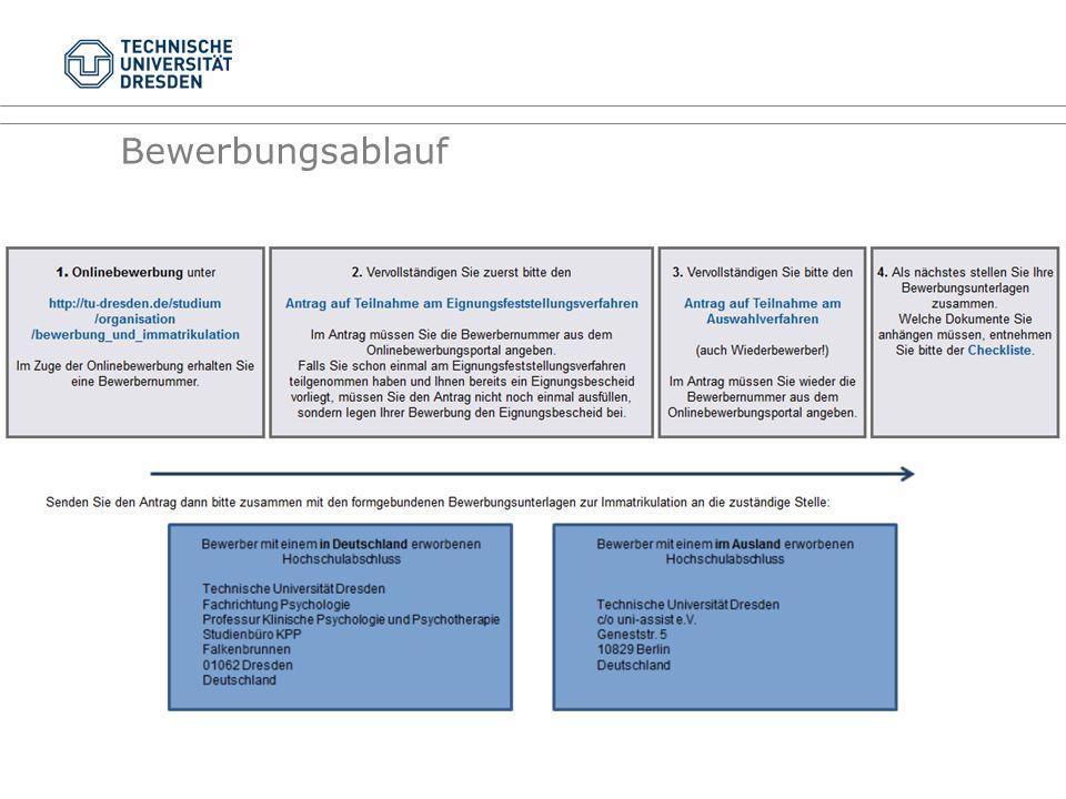Eignungsfeststellungsverfahren i.d.R. alle Kriterien erfüllt
