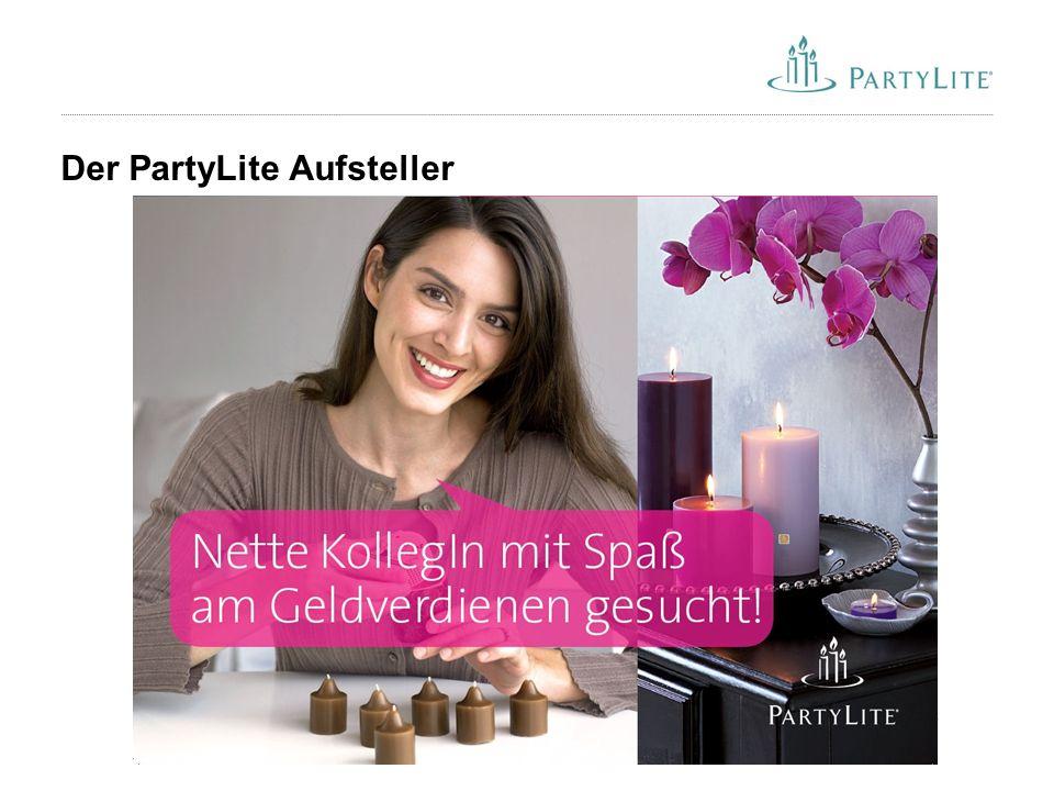 56 Der PartyLite Aufsteller