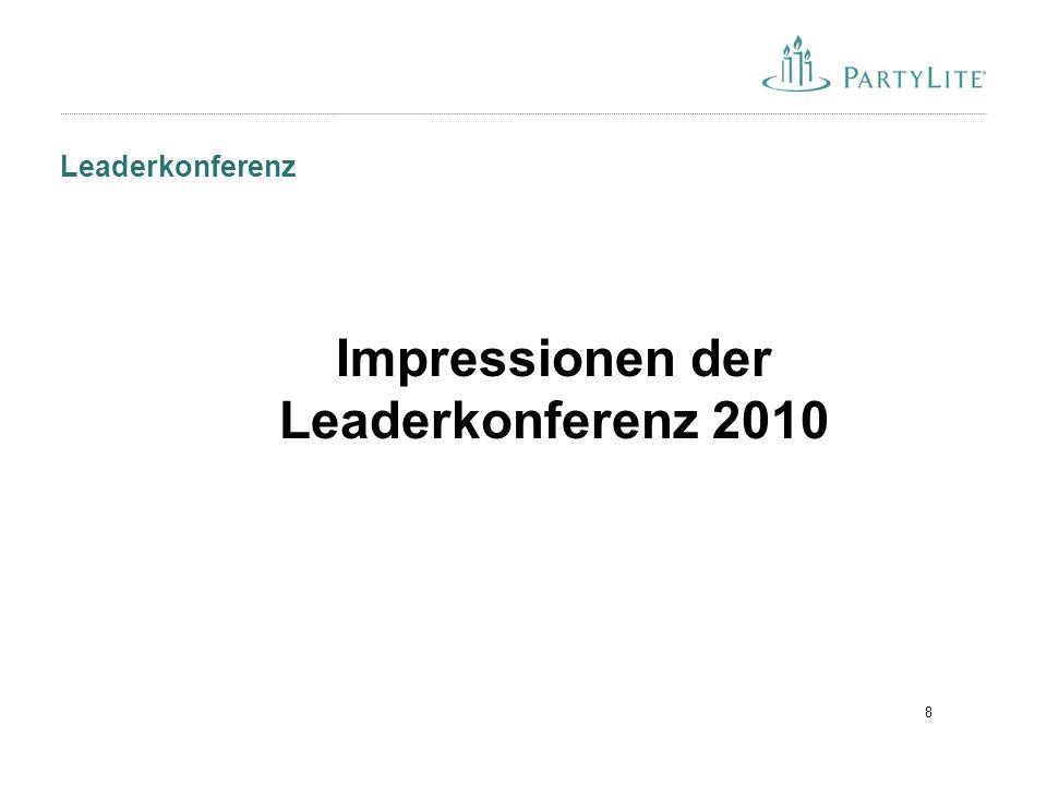 19 Noch ein Grund Leader zu werden:
