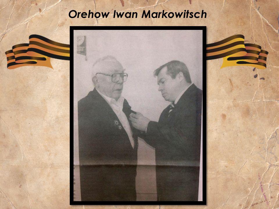 Orehow Iwan Markowitsch