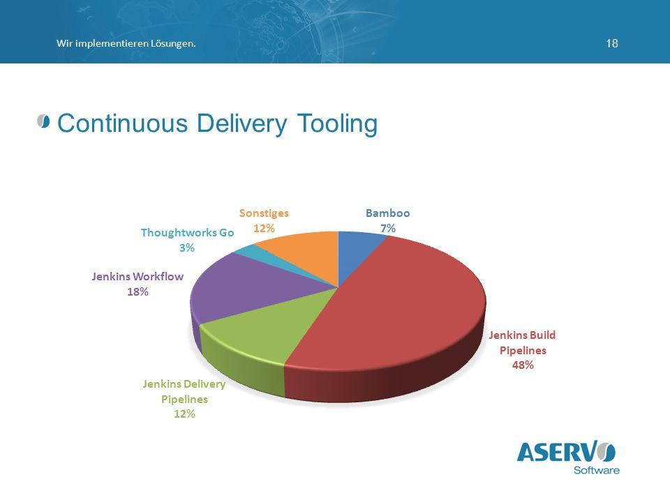 Continuous Delivery Tooling Wir implementieren Lösungen.18