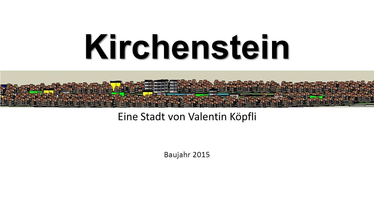 Kirchenstein Eine Stadt von Valentin Köpfli Baujahr 2015