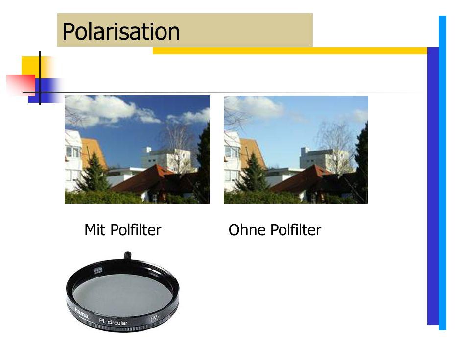 Mit PolfilterOhne Polfilter