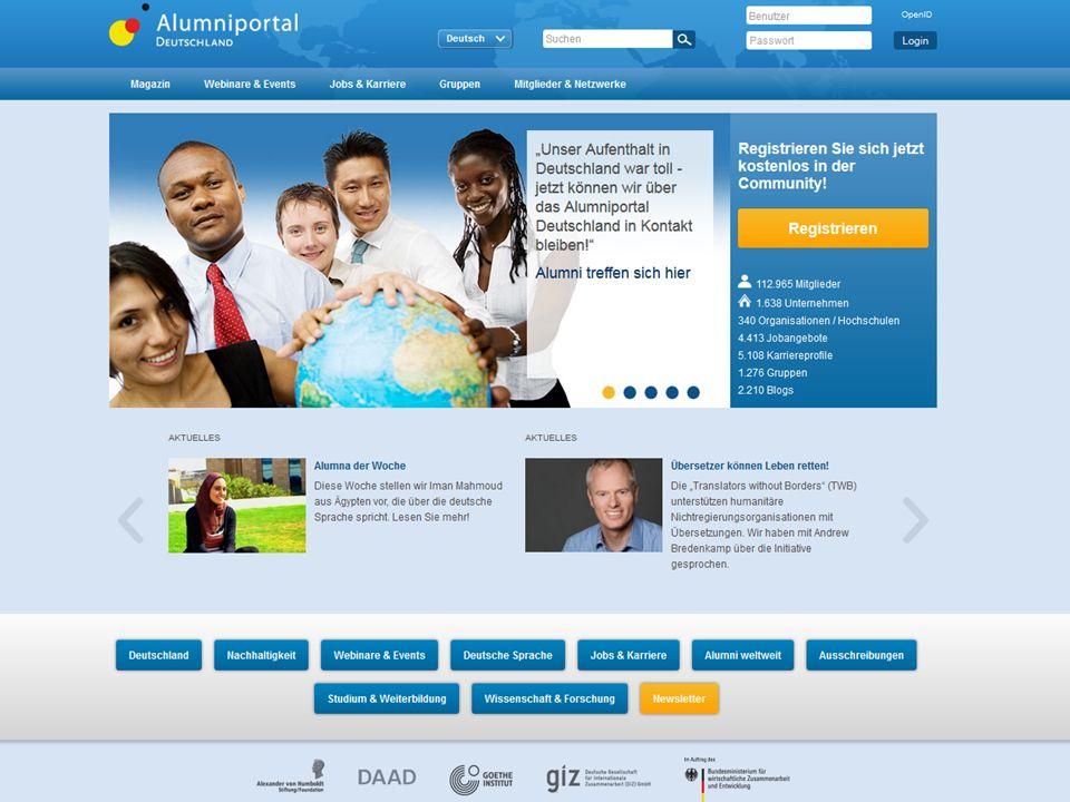 Seite 8 20.02.2016www.alumniportal-deutschland.org