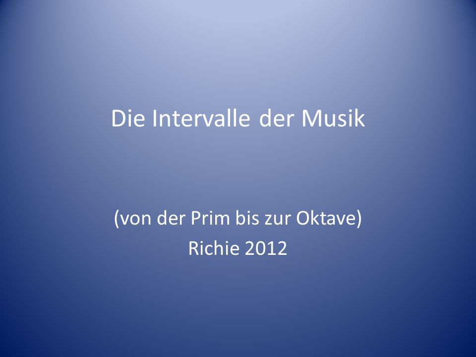 Die Prim Einklang Vollkommene Konsonanz Obertonreihe 1:1 Gehörsdisposition: Zusammenfall v.