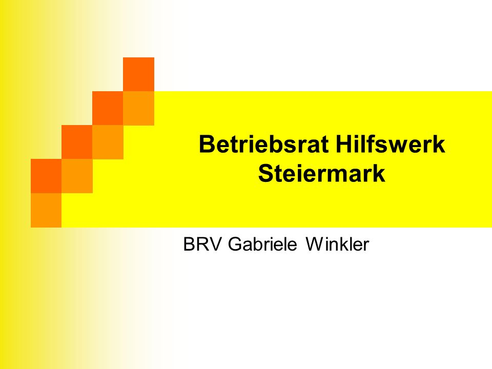 Betriebsrat Hilfswerk Steiermark BRV Gabriele Winkler