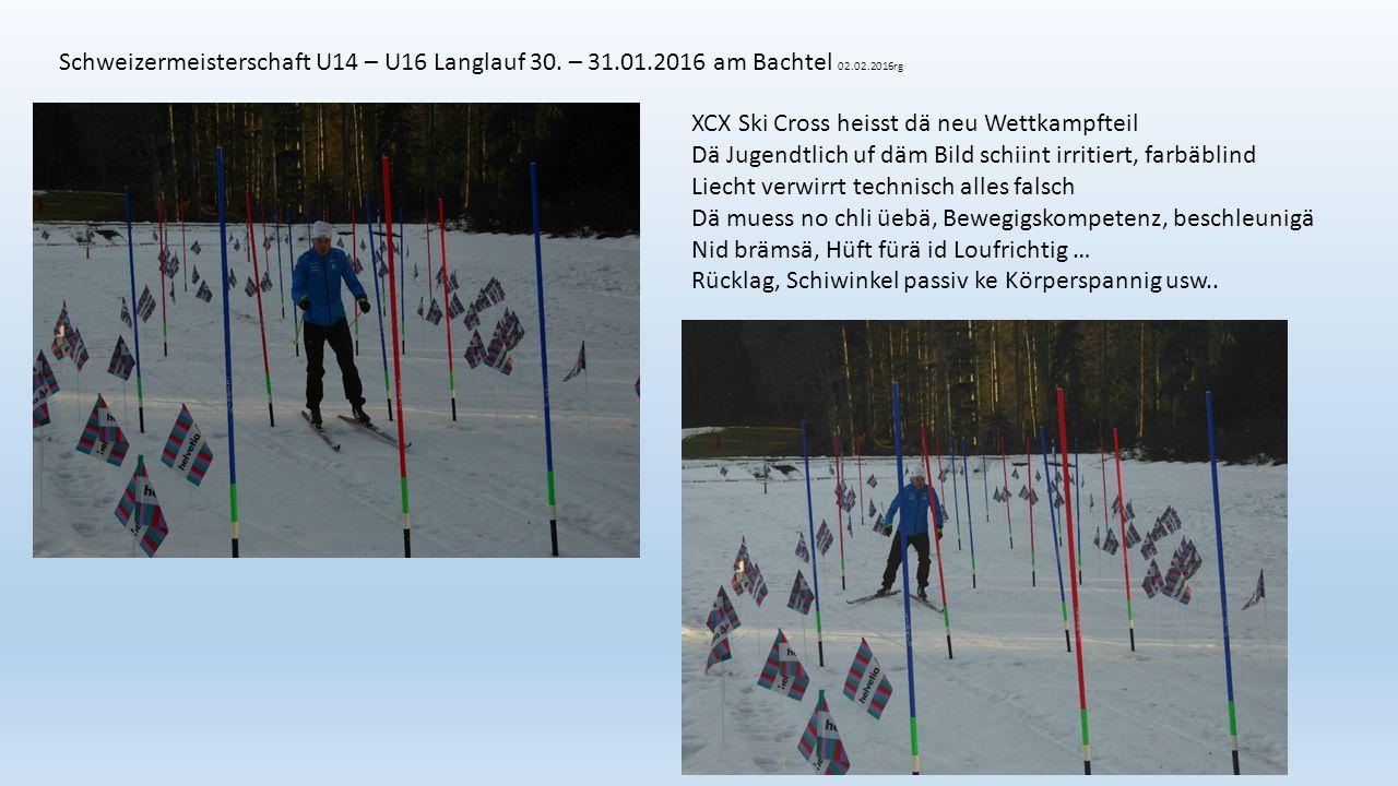 Schweizermeisterschaft U14 – U16 Langlauf 30.