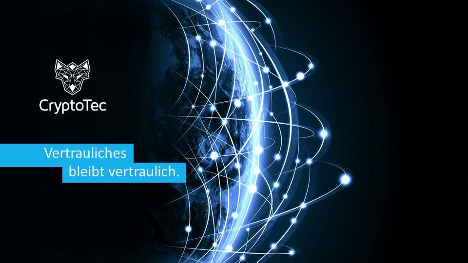 copyright CryptoTec AG 2015 2 Über uns.