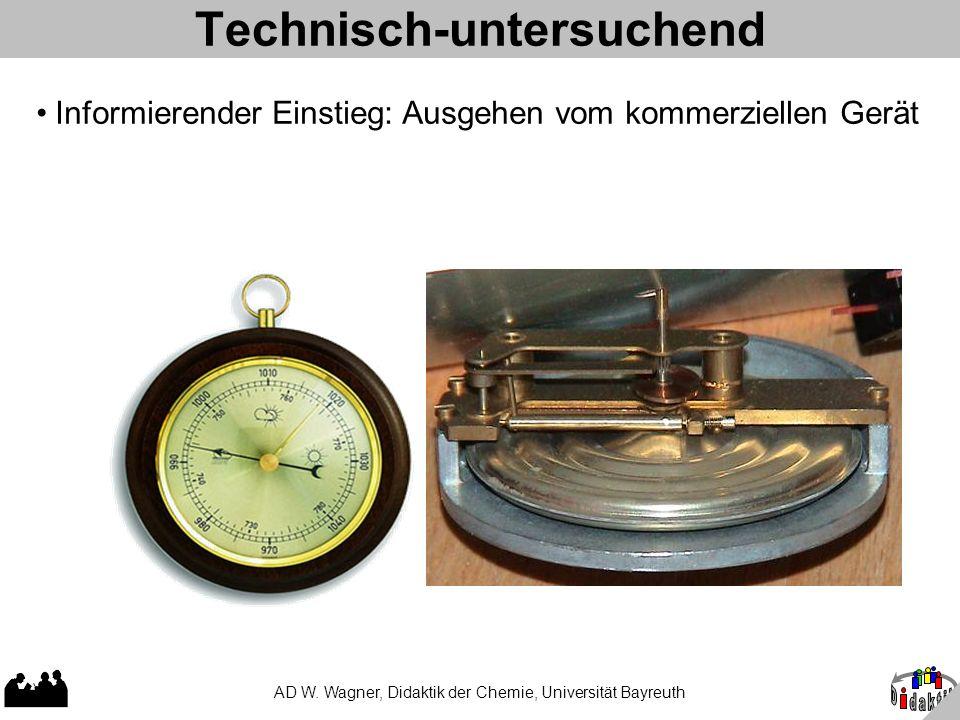 Technisch-untersuchend AD W.