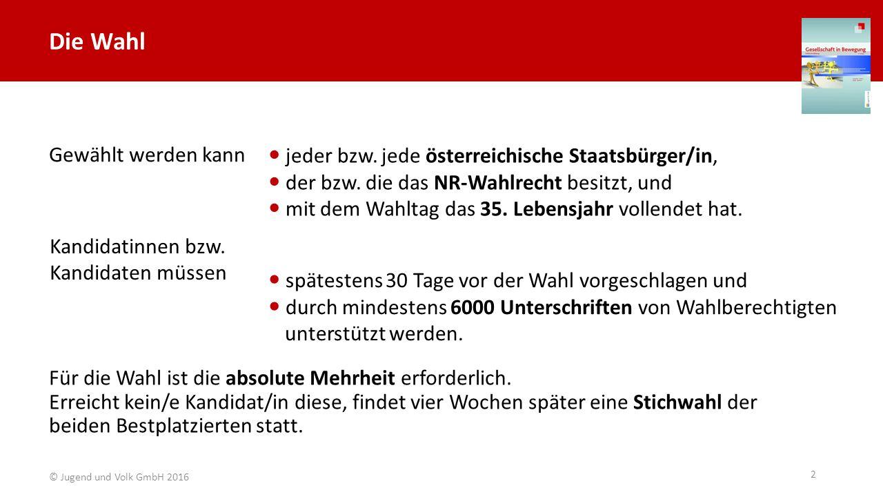 Die wichtigsten Aufgaben Vertretung Österreichs gegenüber dem Ausland Daniel Trippolt/HBF Carina Karlovits/HBF Peter Lechner/HBF (Art.