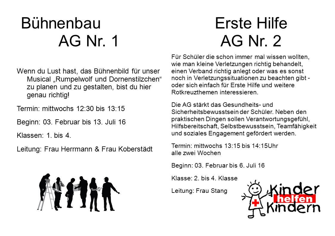 Bühnenbau AG Nr.