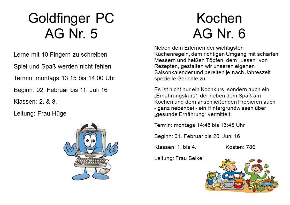 Goldfinger PC AG Nr.