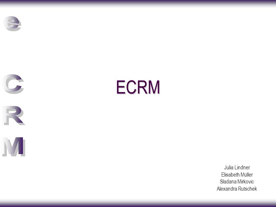 Inhaltsverzeichnis ECRM –Implementierung –Vorteile – Nachteile CRM im Überblick Vergleich ECRM und CRM
