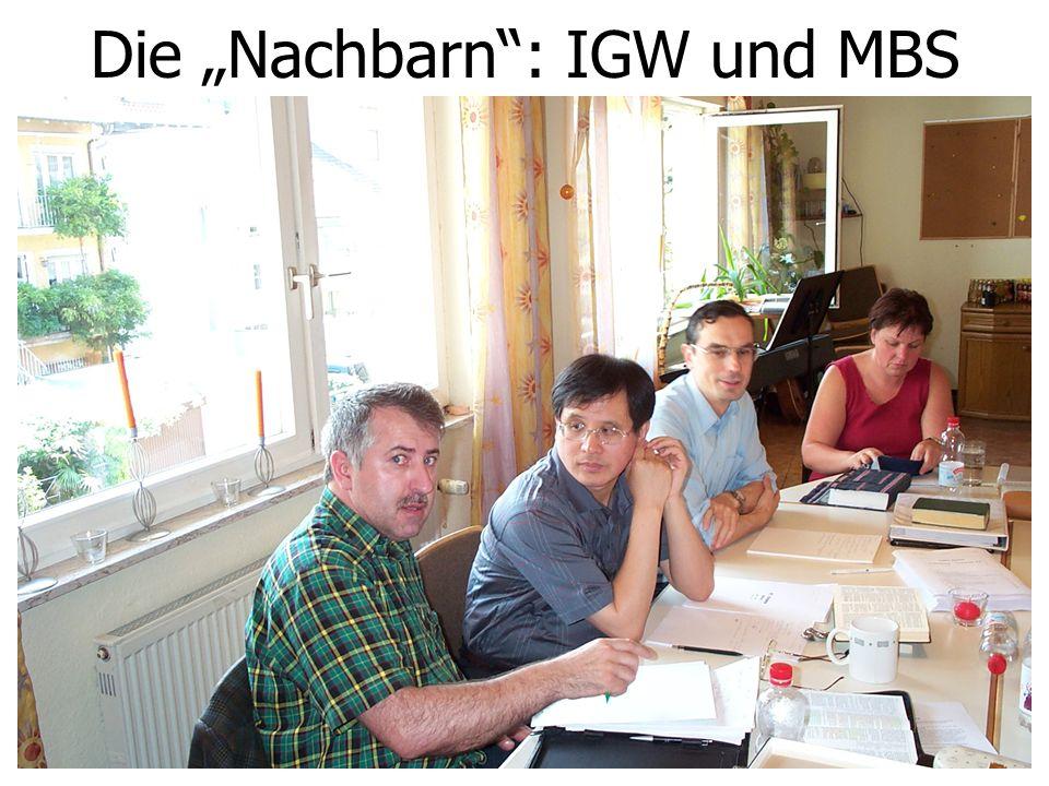 """Die """"Nachbarn"""": IGW und MBS"""