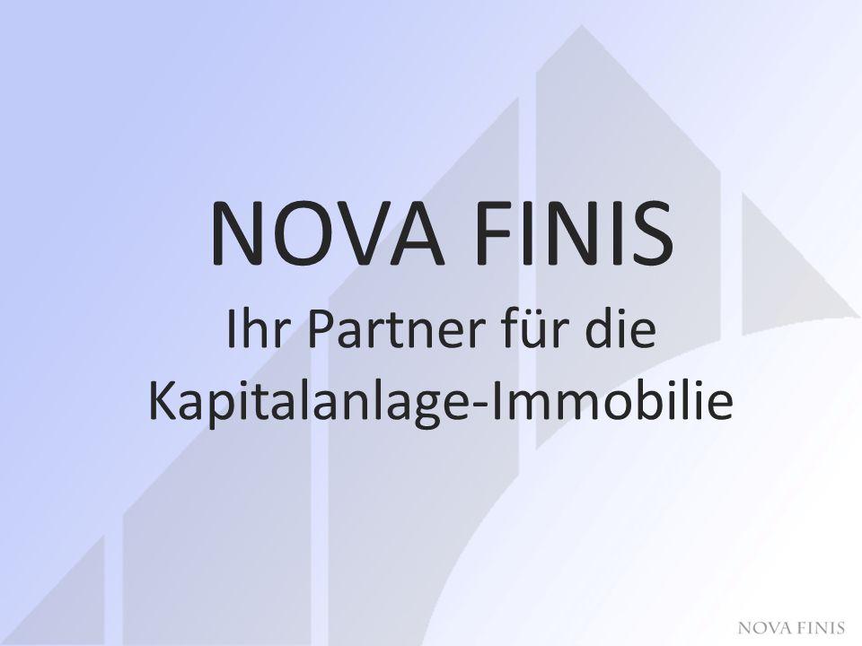 NOVA FINIS Ihr Partner für die Kapitalanlage-Immobilie