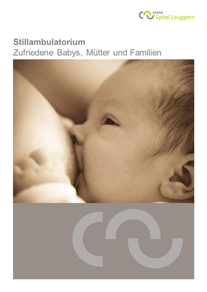 Stillambulatorium Zufriedene Babys, Mütter und Familien Foto: Monika Thönen, www.thoenen.net
