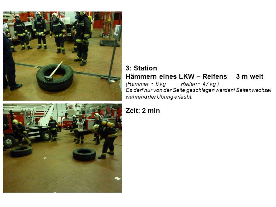 4: Station Unterkriechen - Übersteigen von Hindernissen Durchlaufen von 3 Runden: Beginnend mit durchkriechen – drübersteigen – durchkriechen…Wendepunkt….unter/drüber/unter…..