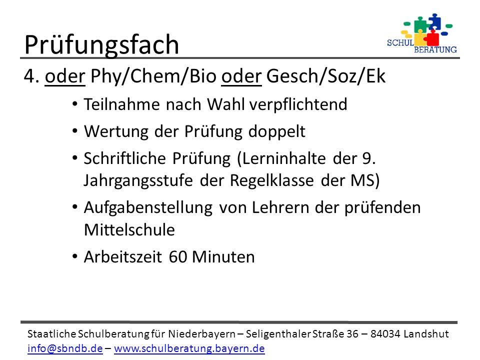 Staatliche Schulberatung für Niederbayern – Seligenthaler Straße 36 – 84034 Landshut info@sbndb.deinfo@sbndb.de – www.schulberatung.bayern.dewww.schulberatung.bayern.de 4.