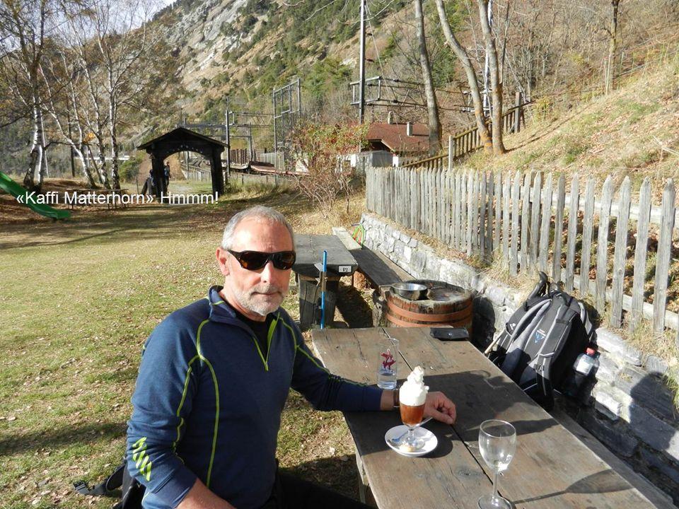 Zu Wochenendhäuschen umgebaute Ställe auf dem Rizubode eingans Bietschtal