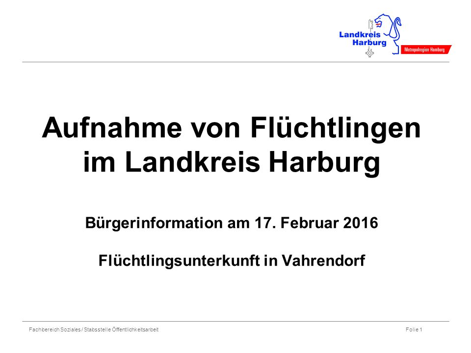 Fachbereich Soziales / Stabsstelle Öffentlichkeitsarbeit Folie 2 Informationen zur Aufnahme von Asylbewerbern in Deutschland Asylbewerber in Deutschland neu aufgenommen (lt.