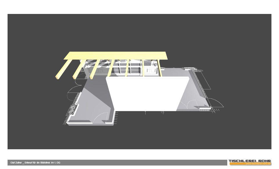 Olaf Zuther _ Entwurf für die Bibliothek im 1. OG