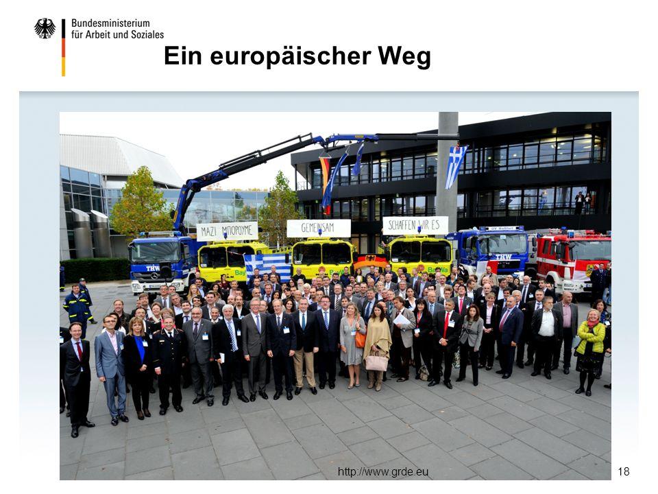 Ein europäischer Weg http://www.grde.eu18