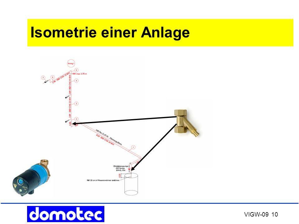 VIGW-09 10 Isometrie einer Anlage