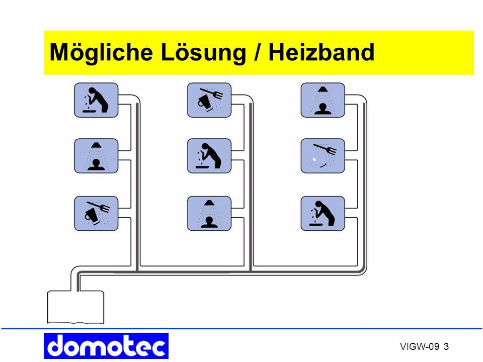 VIGW-09 3 Mögliche Lösung / Heizband