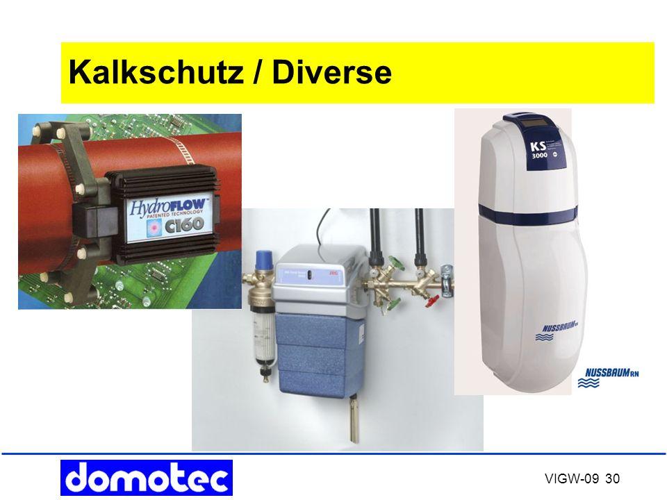 VIGW-09 30 Kalkschutz / Diverse
