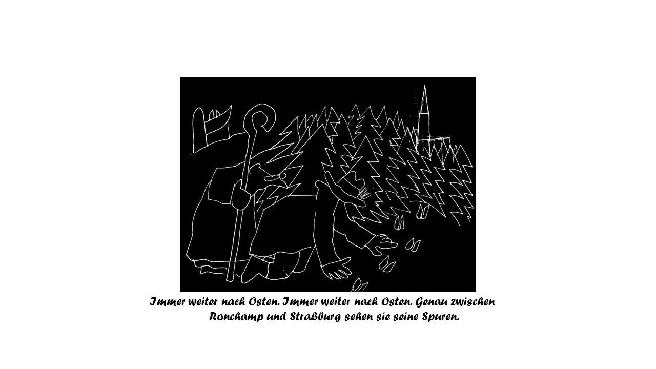 Auch wenn kein Elch gefangen wurde, erinnert der Name der kleinen schwäbischen Stadt an das Elche fangen (Ellwangen).
