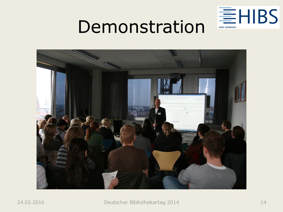 Demonstration 24.02.2016Deutscher Bibliothekartag 201414