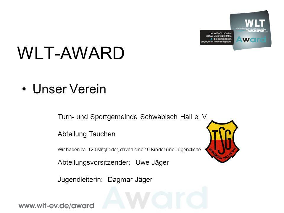 WLT-AWARD Unser Verein Turn- und Sportgemeinde Schwäbisch Hall e.