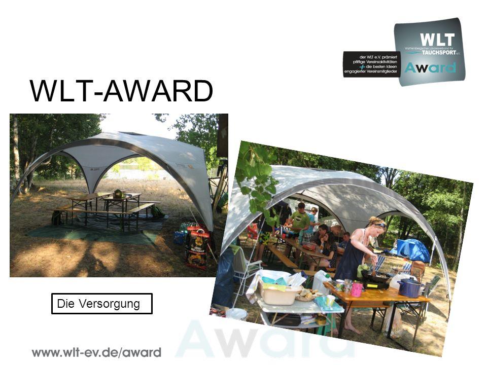 WLT-AWARD Die Versorgung