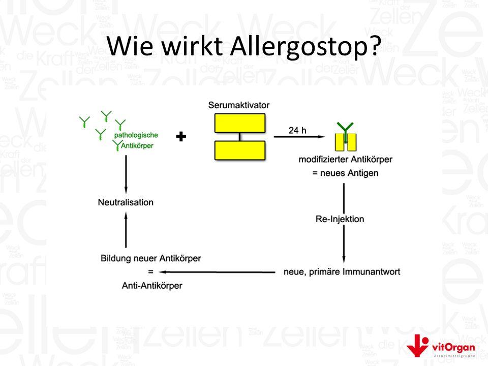 Wie wirkt Allergostop?