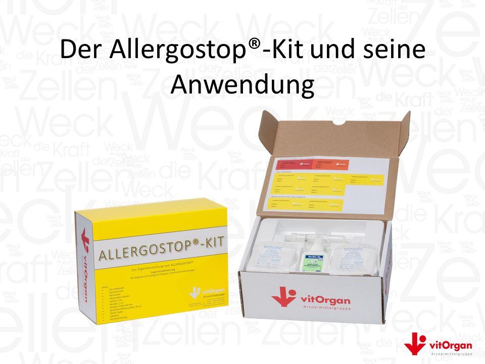 Der Allergostop®-Kit und seine Anwendung