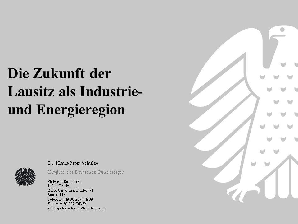 Die Zukunft der Lausitz als Industrie- und Energieregion