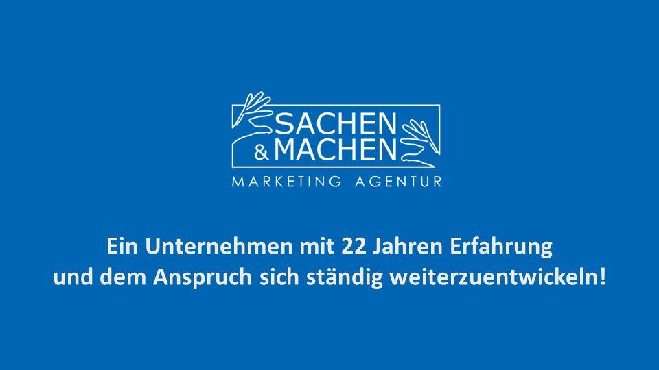 """FIRMEN KENNDATEN Sachen & Machen Marketing Services G.m.b.H Industriegelände West Nr.11 A-2460 Bruck an der Leitha Tel.: +43 (0) 2162 64580-16 Fax: +43 (0) 2162 64580-15 office@sachen-machen.co.at Gegründet 1993 Firmensitz: Bruck an der Leitha 20 DienstnehmerInnen Lagerfläche der Halle: 1.500 m2 Palettenplätze: 1.500 (Hochregallager) Umsatz: 2,1 Millionen Euro (2014) """"Wir sind stetig dabei uns zu verbessern und an den Anforderungen und Wünschen unserer Kunden zu wachsen! Auszug aus der Kundenliste: Mars, Nikon, Henkel, TUI, Teekanne, REWE, Hartlauer, HIPP, Biomin, SPAR, Lidl, EVN, Good Year, Hofer, Beiersdorf u.v.m."""