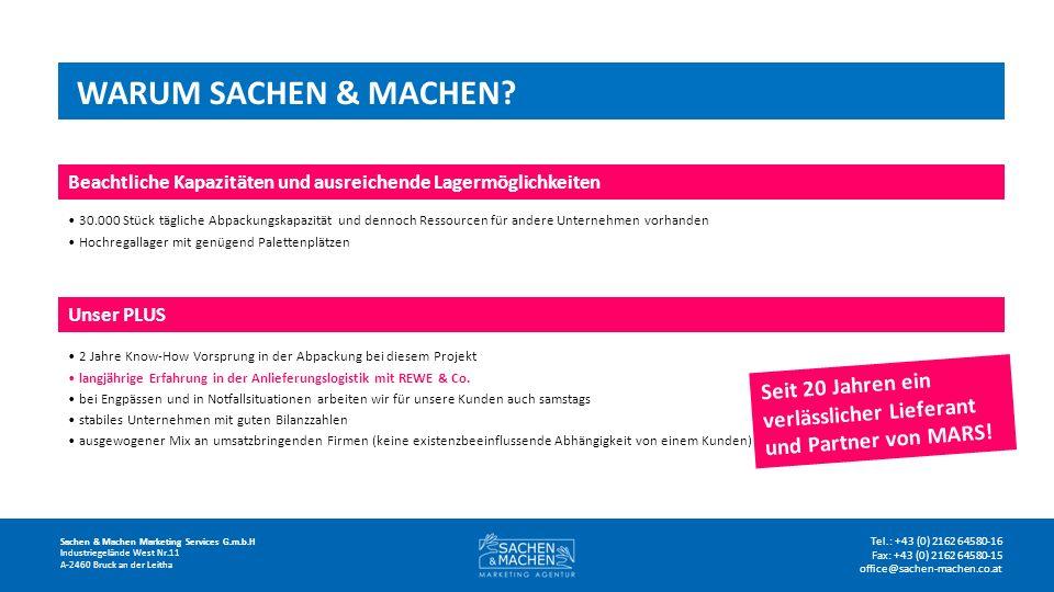 WARUM SACHEN & MACHEN.