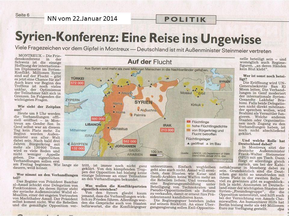 NN vom 22.Januar 2014