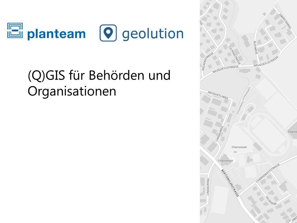 (Q)GIS für Behörden und Organisationen