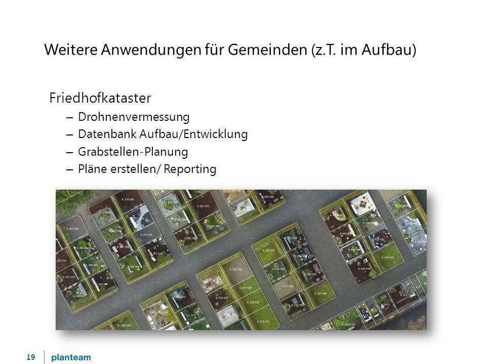 19 Weitere Anwendungen für Gemeinden (z.T.
