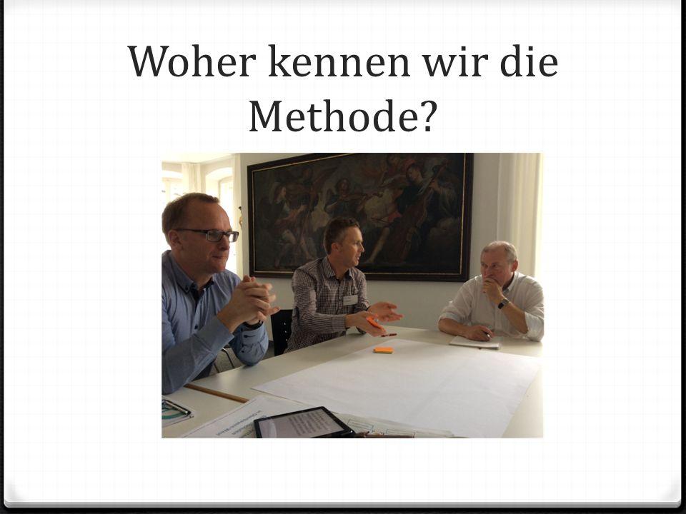 Woher kennen wir die Methode?