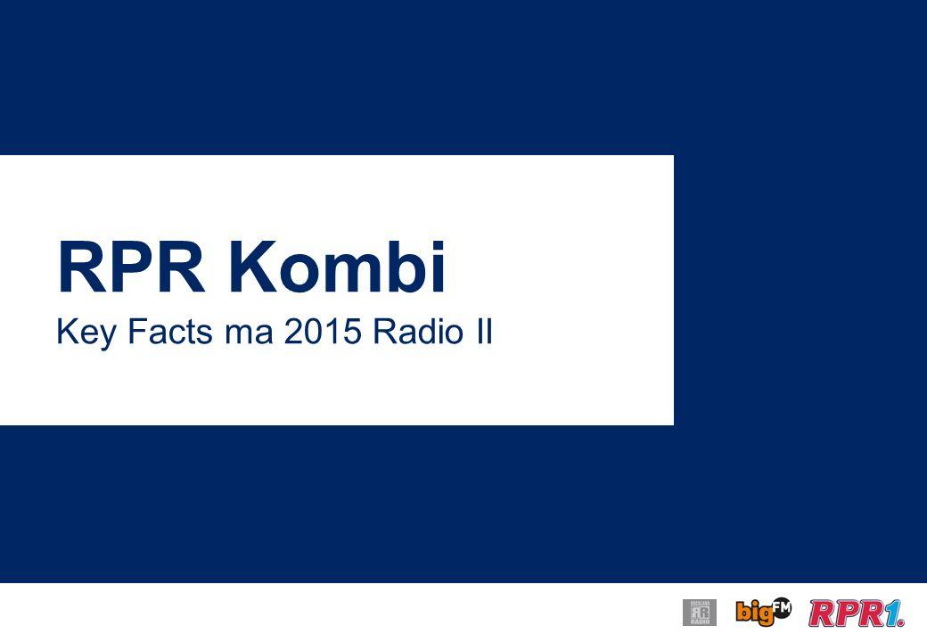 RPR Kombi Key Facts ma 2015 Radio II