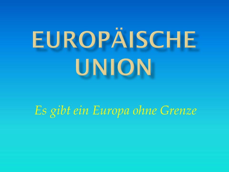 1.Wie viele Länder gehören 2007 der Europäische Union an.