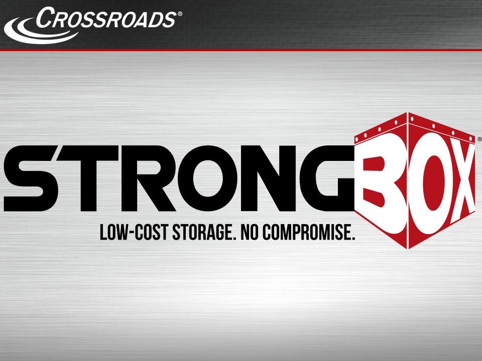 Crossroads Corporate Überblick Gegründet 1996 in Austin, Texas Europa: Sitz in Schwäbisch Gmünd Mehr als 19 Jahre in der Storage Industrie Über 125.000 installierte Systeme Mehr als 100 Patente und zahlreiche Auszeichnungen 8 StrongBox Patente, 2 neu zugesprochen DatumStrongBox2