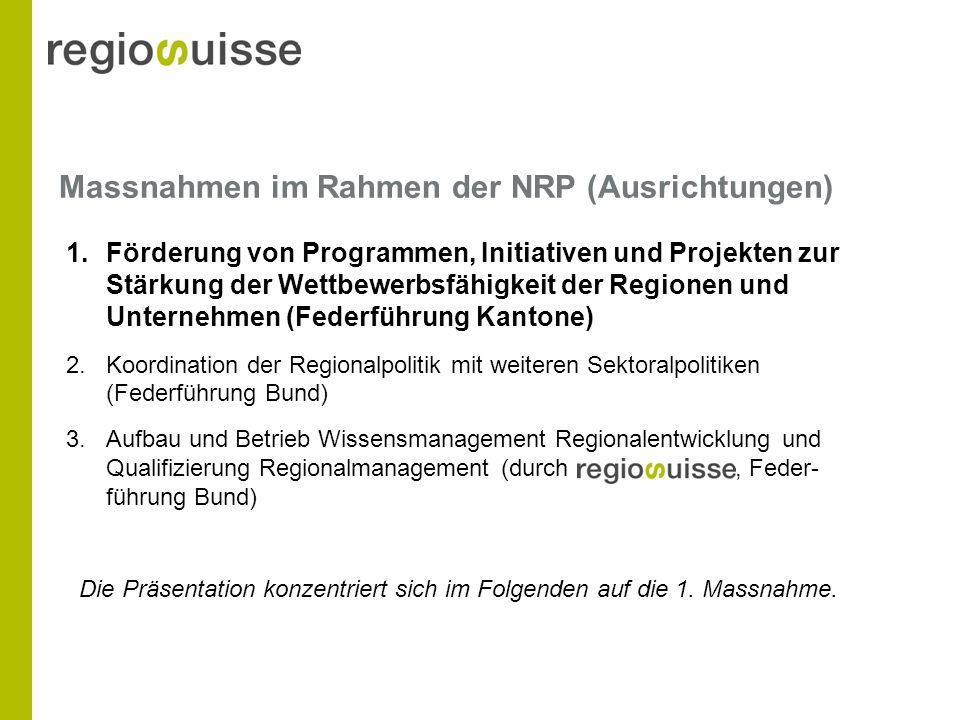 Weitere Förderkriterien (1/2) Projekt wird von der regionalen Wirtschaft bzw.